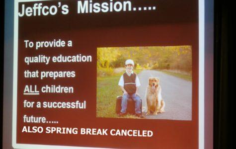 Spring Break Mishap Shortens Jeffco Summer