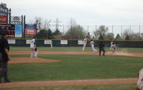 Baseball Bouncing Into State