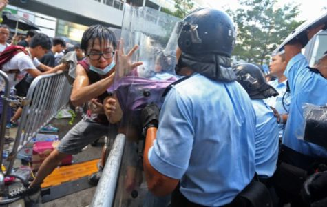 Protesters fight for Democracy in Hong Kong