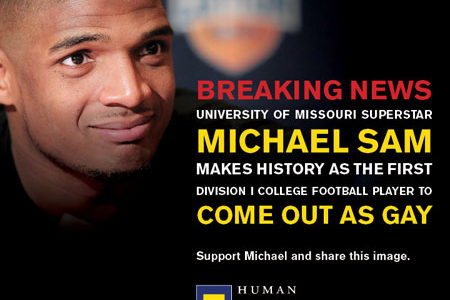 Michael Sam: Not Just Another Football Player
