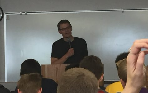 Nick Arvin Visits Wheat Ridge High School