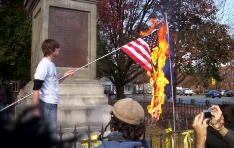 Burning the American Flag: Peaceful Protest or Hateful Disobedience?