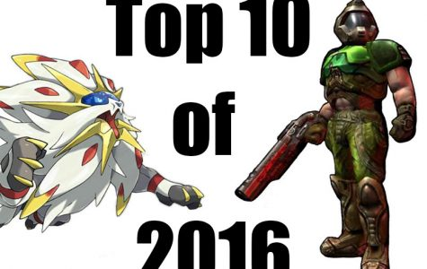 Top 10 games of 2016