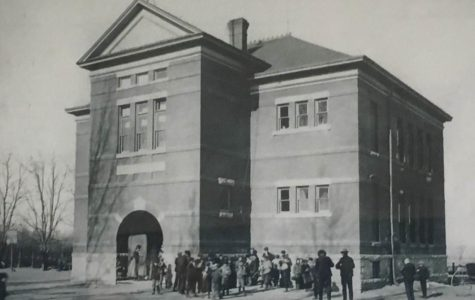 First Wheat Ridge High School in May of 1897. Courtesy of Colorado Historical Society