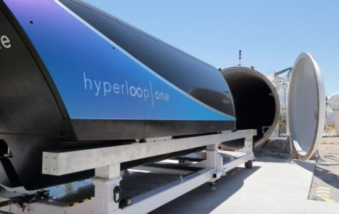 Hyperloop One successfully tested a pod in August 2017.