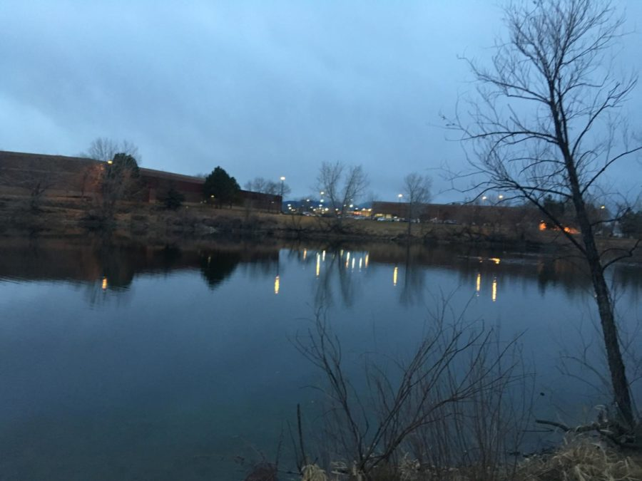 In Arvada, where many homeless individuals reside.