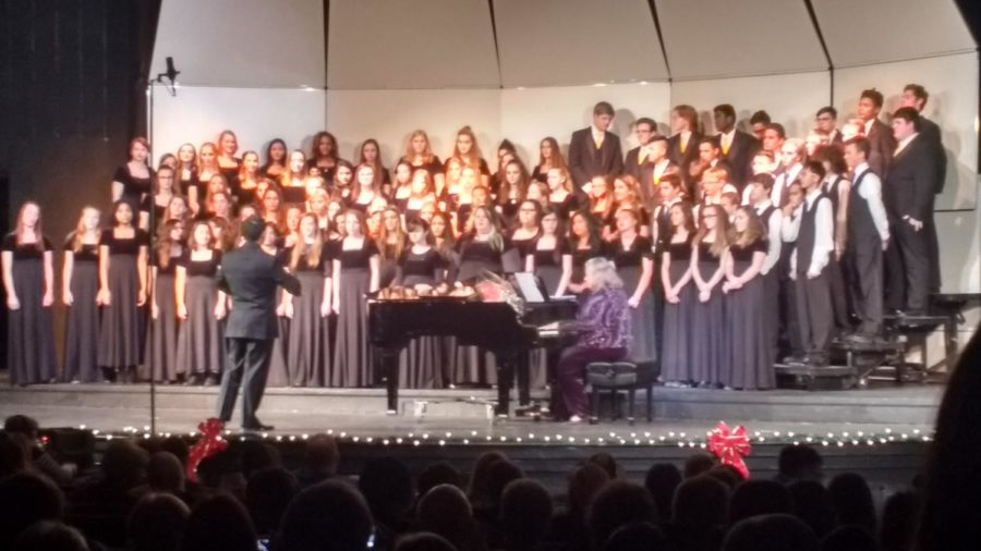 All+choirs+combined+performing+a+final+piece+together.