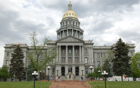The Colorado State Capitol building.
