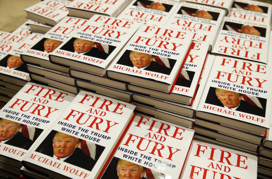 Michael Wolff's controversial book Fire and Fury sold 1.7 million copies in the first three weeks after it was published.