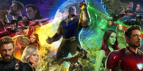 Avengers: Infinity War cast.