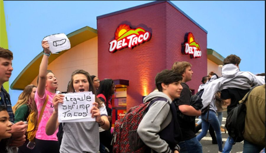 Angry Mob overthrows local Mexican eatery