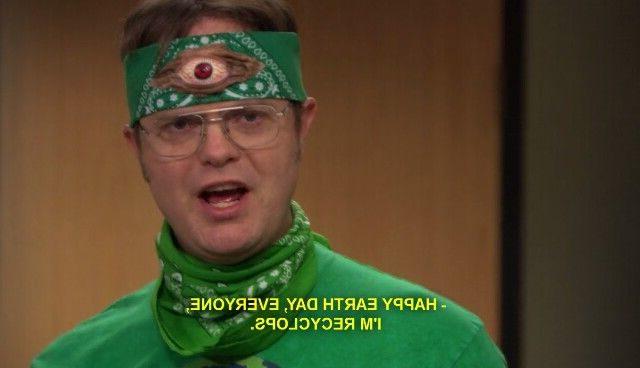 Dwight, via the office (matty ice)