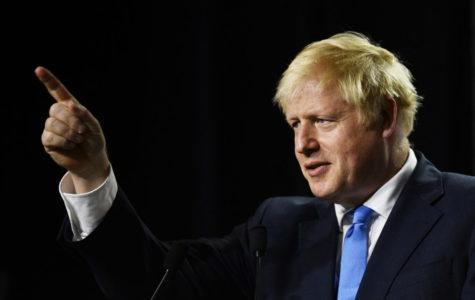 Boris Johnson, new prime minister.
