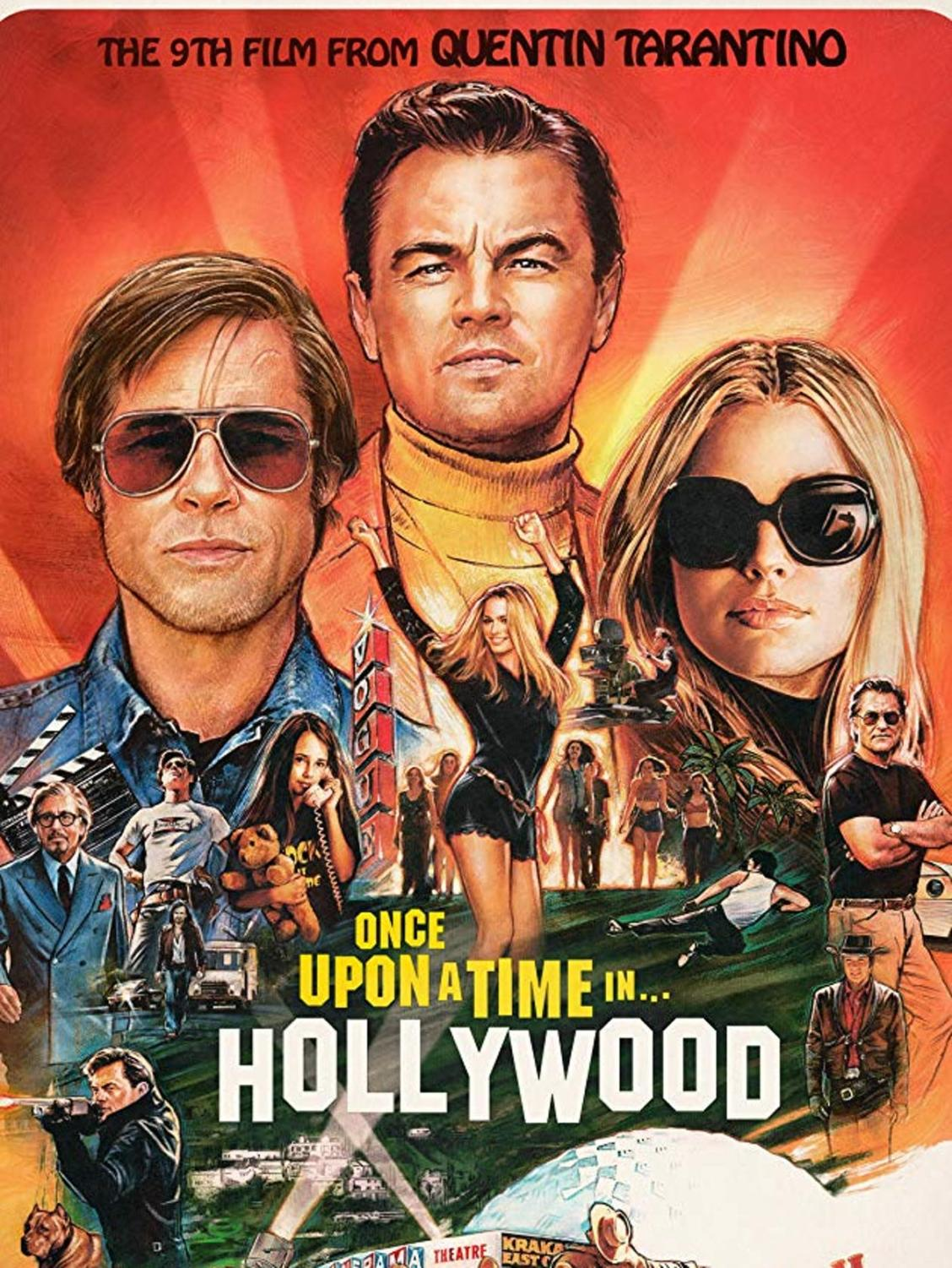 Movie poster for Once Upon a Time in Hollywood.
