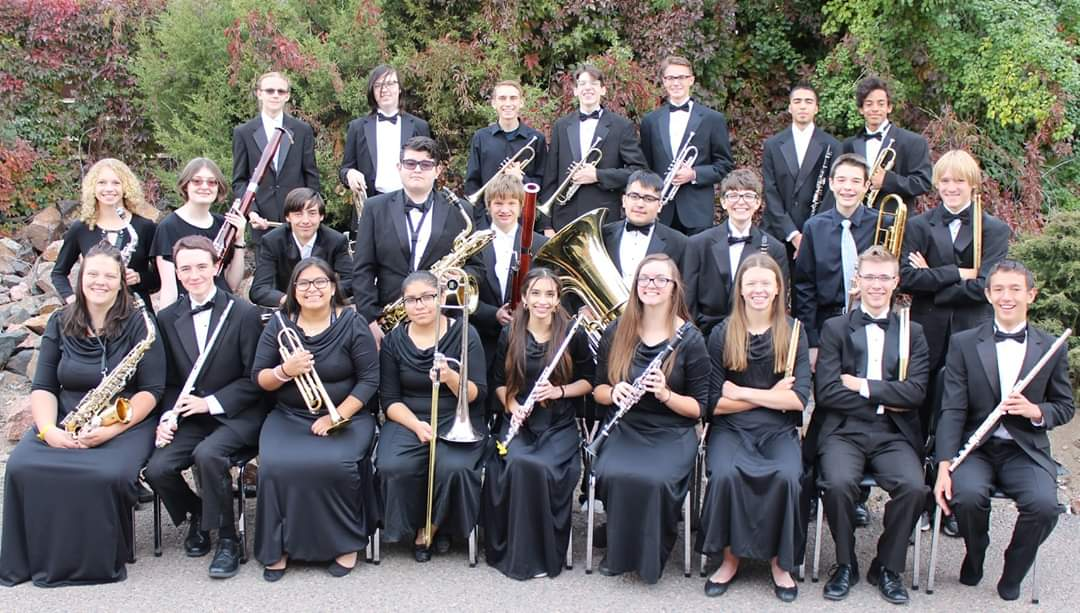 Wheat Ridge band prepares for first concert of the year.