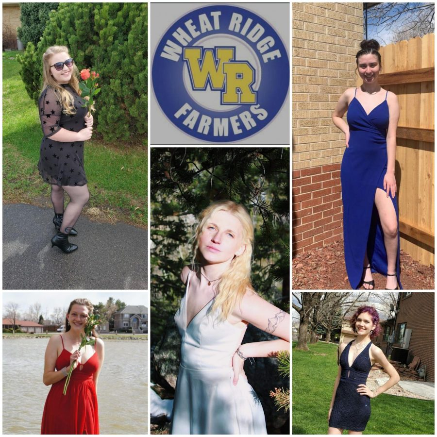 Wheat Ridge ladies get dressed up for their at home prom with their friends and family