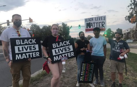 Recent Wheat Ridge protesters for the BLM movement