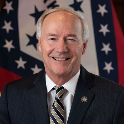 Asa Hutchinson, governor of Arkansas, pictured here